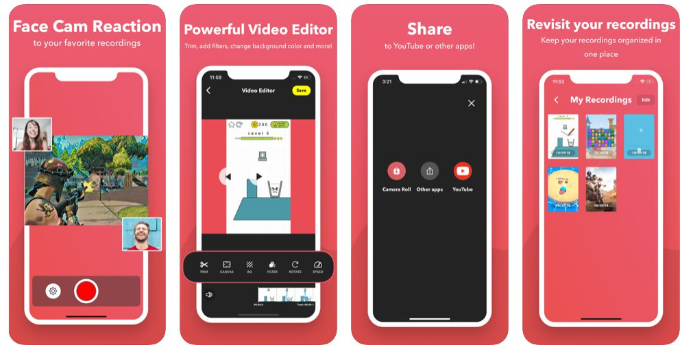 تحميل برنامج تصوير الشاشة فيديو للأيفون بجودة عالية جداً