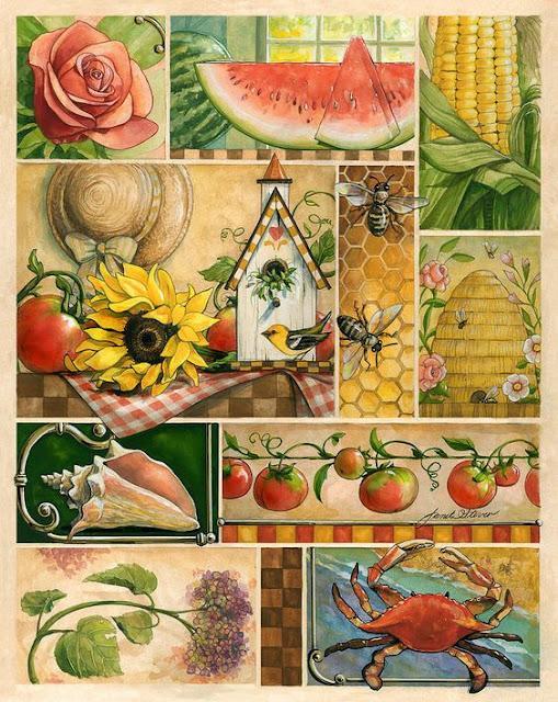 Summer Montage - Janet Stever
