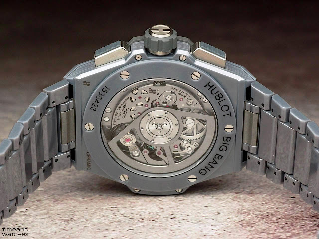 Hublot Big Bang Integral Grey Ceramic
