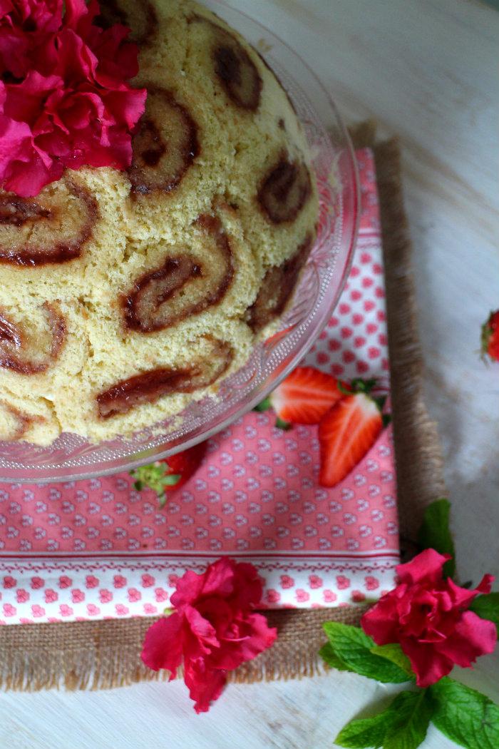 charlotte-royale, fresas, charlotte, bavaroise