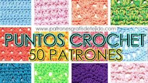 50 Patrones Crochet Gratis 😍