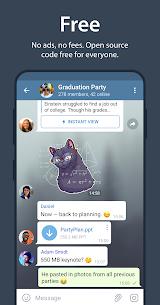 Telegram Mod Apk v6.1.0 (Latest Version)