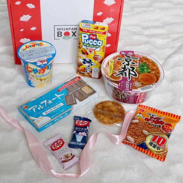 Le contenu de My Japan Box