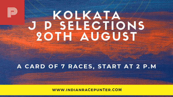 Kolkata Jackpot Selections 20 August