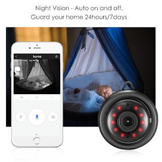 mini telecamera wireless
