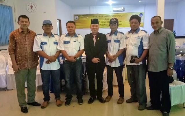 Dinas Kominfo Bersama PPWI Aceh Tamiang Gelar Pelatihan Jurnalistik Warga
