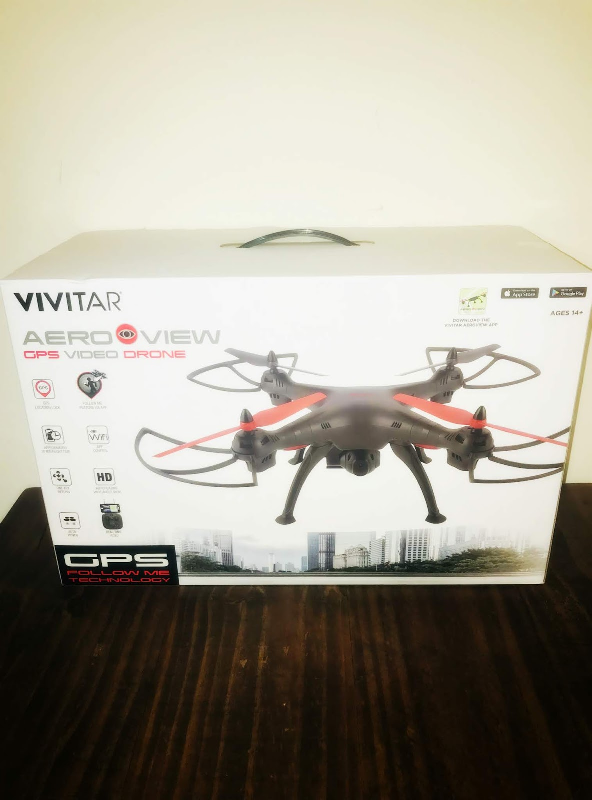 Living a Fit and Full Life: The Vivitar AeroView Drone with Camera