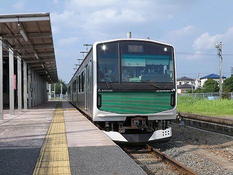 【夕方だけのレア運用】烏山線 宝積寺行き EV-E301系