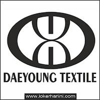 Lowongan Kerja PT Dae Young Textile Terbaru 2021