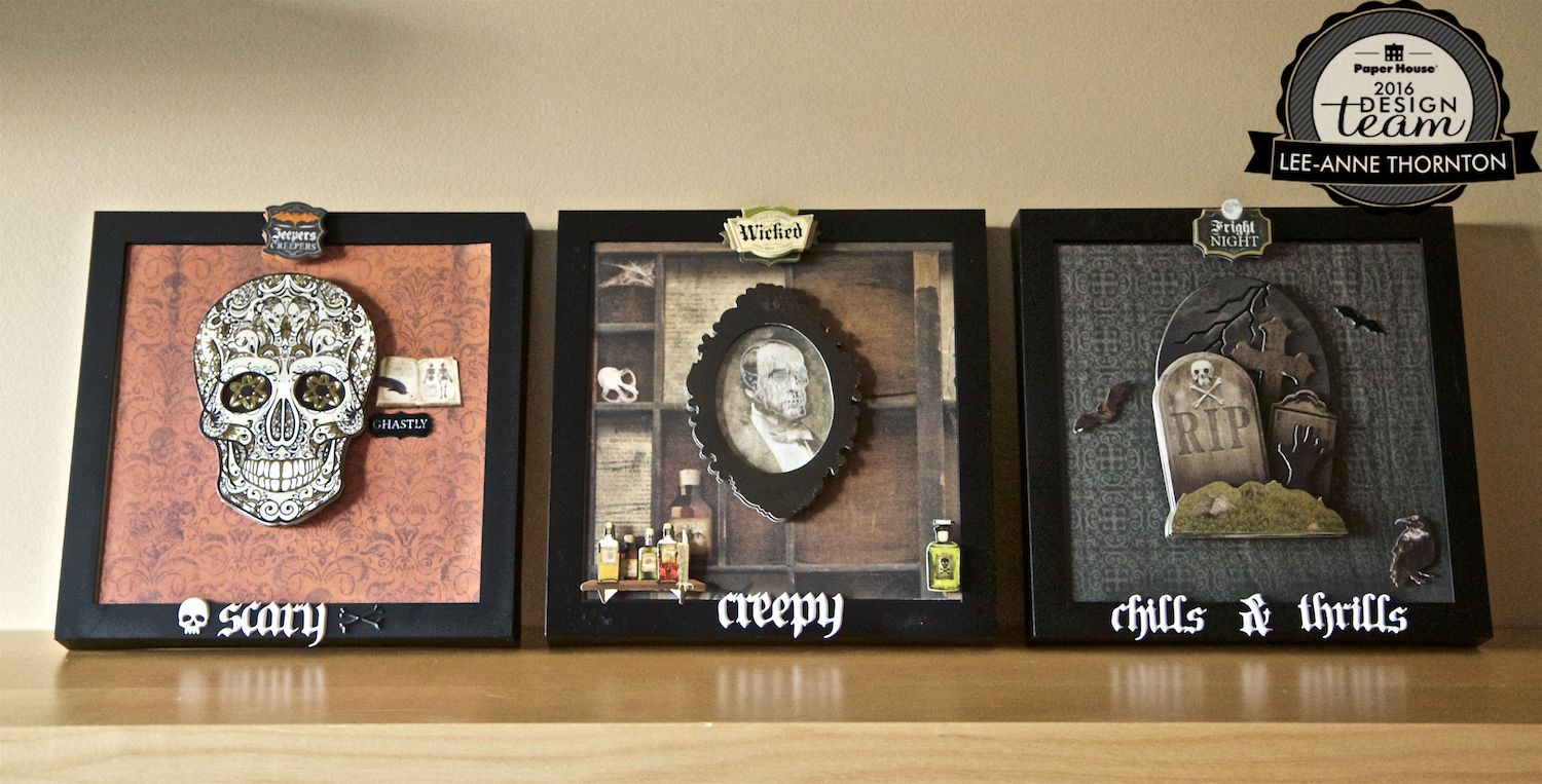 Love The Journey: Halloween Frames With 3D Shimmers Lighted ...