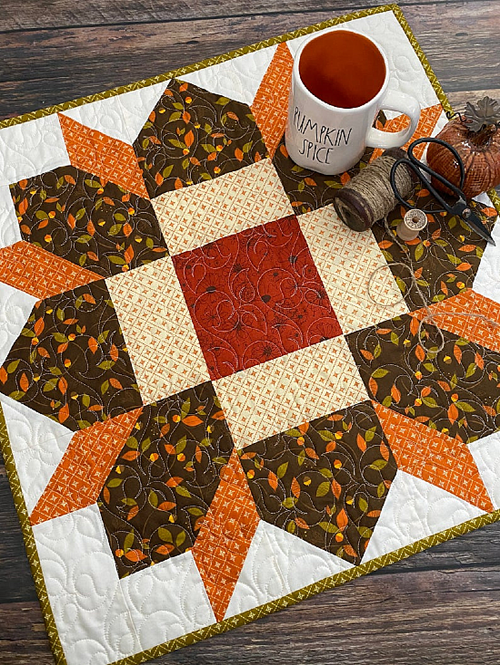 Rosewood Star Quilt Pattern