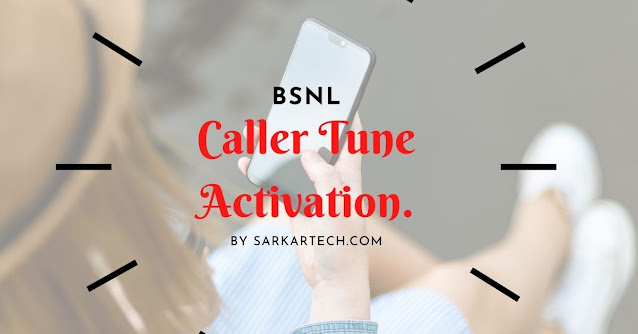 BSNL Call Tune Activation Code