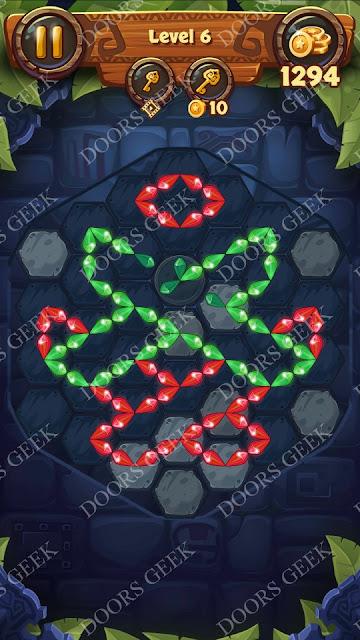 Gems & Magic [Pearl] Level 6 Solution, Walkthrough, Cheats