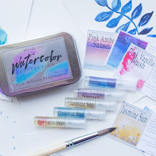 The Watercolor Collection Perfume Sample Gift Set by Wylde Ivy