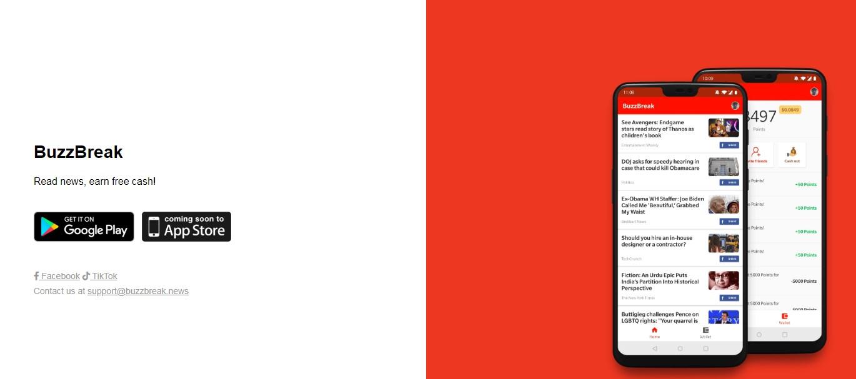 BuzzBreak Membaca dan Menonton Video di Bayar Paid Aplikasi