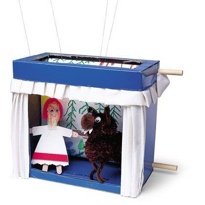 Little Red Riding Hood Mini Marionettes