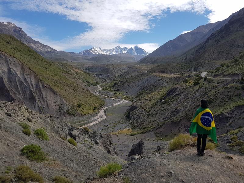 Cajon del Maipo e Embalse El Yeso