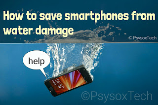 Save your expensive and smart phone from water