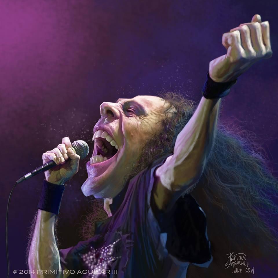 Ronnie James Dio por Tivo Aguilar