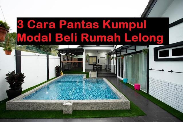 Contoh rumah lelong kepunyaan tuan Fairus Mohd Tabiee yang di beli pada harga RM190 ribu