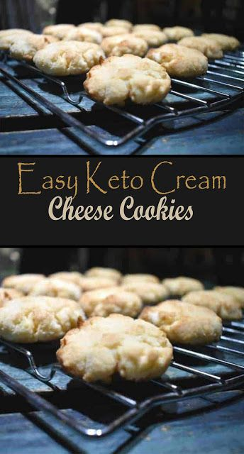 Easy Keto Cream Cheese Cookies