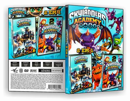 CAPA DVD – Skylanders 2 Em 1 – ISO