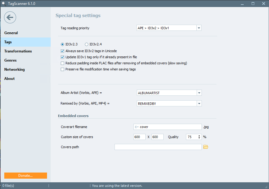 TagScanner 6.1.2