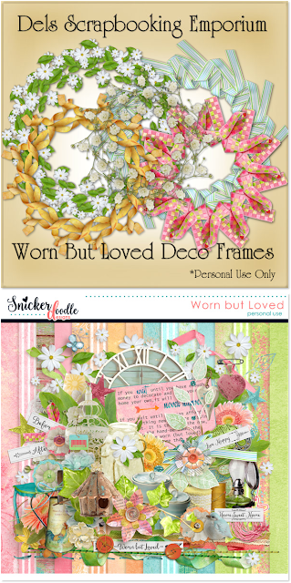 Worn But Loved Deco Frames