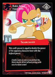My Little Pony Babs Seed, Bigger Bully Absolute Discord CCG Card
