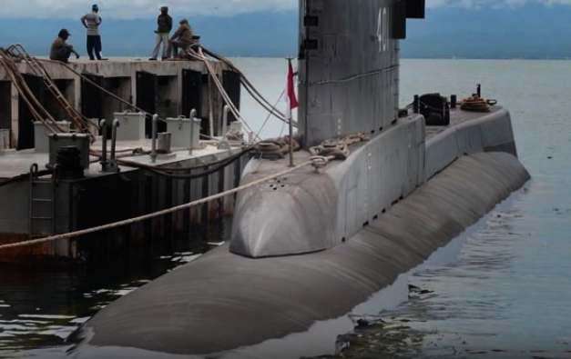 Gambar pembangunan dermaga kapal selam rahasia TNI Indonesia