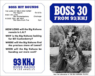 KHJ Boss 30 No. 47 - The Big Kahuna with tiger