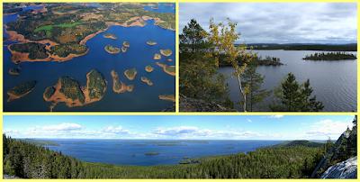 Mar Archipiélago; Lago Inari; Parque Koli