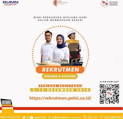 Lowongan Kerja PT Pelindo (Persero) Jenjang Sarjana & Diploma