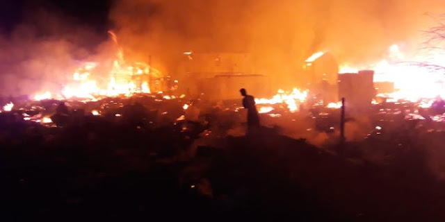 Inalillahi Wa Ina Ilaihi Rojiun, Kebakaran di Kalimantan Lenyapkan 50 Rumah dan 1 Gereja