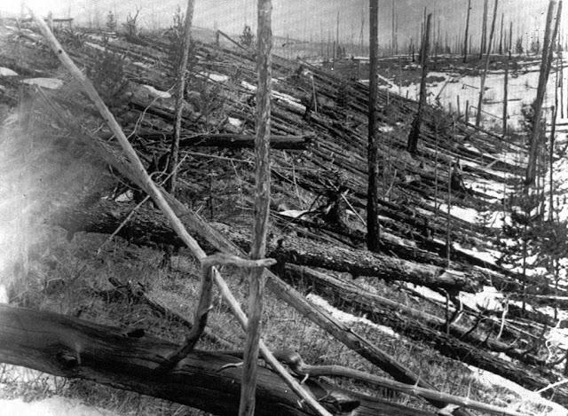 Tunguska registra a mais poderosa explosão ocorrida na história