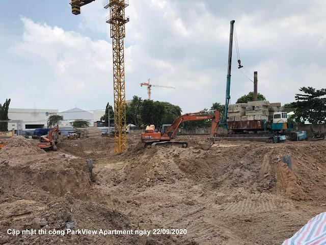 Tiến độ thi công xây dựng ParkView Apartment