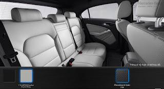 Mercedes A200 2017 màu Nội thất Xám Crystal 118