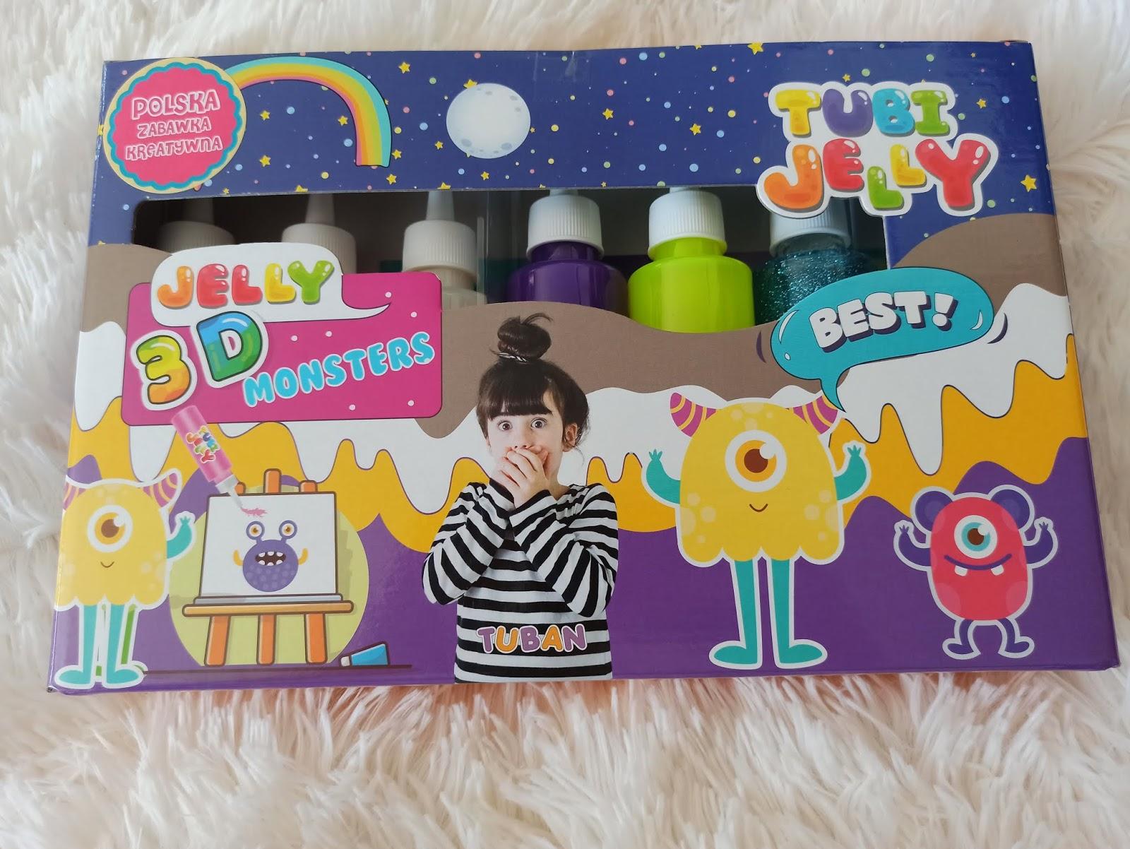 Tubi Jelly - kreatywnie z marką Tuban