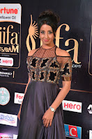 Sanjjanaa Galrani aka Archana Galrani in Maroon Gown beautiful Pics at IIFA Utsavam Awards 2017 18.JPG