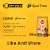 (Answer Added) Pedigree Quiz Time Answers & Win Rs.5000