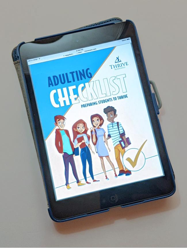 Voyage: Adulting Checklist