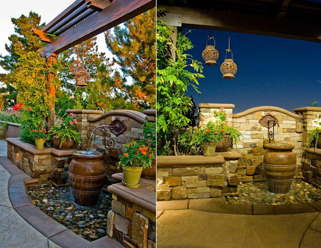 What factors to consider and considerations before designing a villa courtyard water feature
