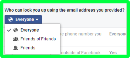 Search Facebook By Email
