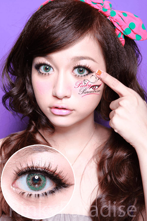 G&G Queenie Royal Green Circle Lenses (Colored Contacts)
