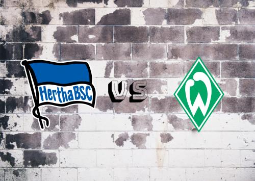 Hertha BSC vs Werder Bremen  Resumen