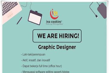 Lowongan Kerja Bandung Graphic Designer Ina Cookies