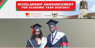 MasterCard Foundation Scholars Program at Makerere University 2020/2021