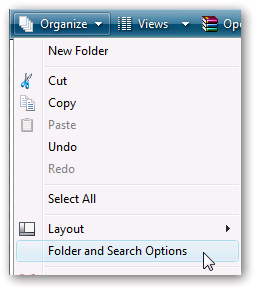 how to find files in vista