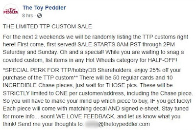 The Toy Peddler 23 Year Anniversary Custom '64 Wagon Gasser nova ttp