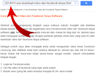 Trik Download Video Facebook Tanpa Mikir